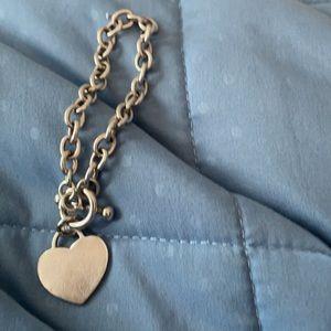 925 Silver Bracelet With Heart